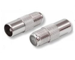 Adapter F-Buchse-IEC-Stecker