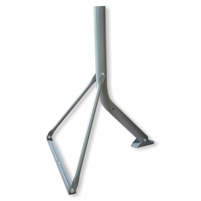 Wandhalter / Standfuß Stahl I-F1 T55 antrazit