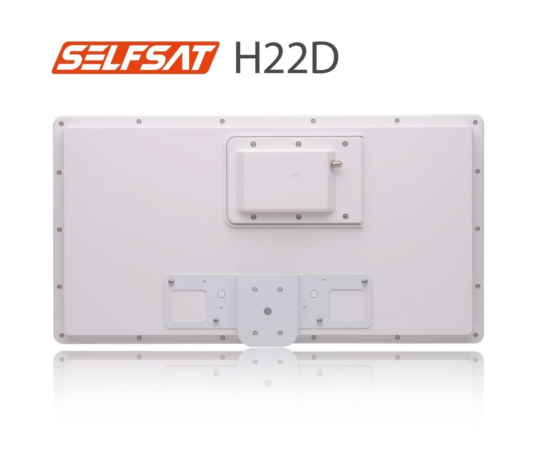 Selfsat H22D Flachantenne mit austauschbaren Single LNB