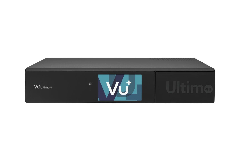 VU+ Ultimo 4K 2x DVB-C FBC Tuner 8 TB HDD Linux Receiver UHD 2160p