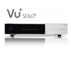 VU+ Solo² WE 2x DVB-S2 Tuner 500 GB HDD Twin Linux Receiver Full HD 1080p (white)