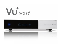 VU+ Solo² WE 2x DVB-S2 Tuner 1 TB HDD Twin Linux Receiver Full HD 1080p (white)