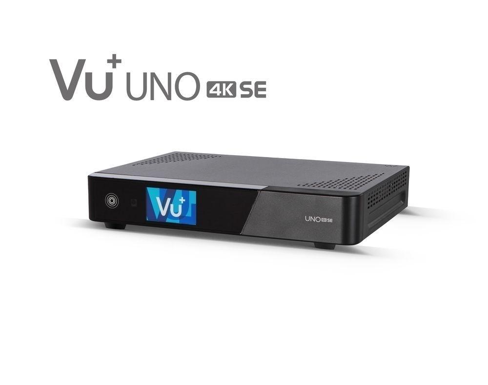 VU+ Uno 4K SE 1x DVB-S2 FBC Twin Tuner PVR ready Linux Receiver UHD 2160p