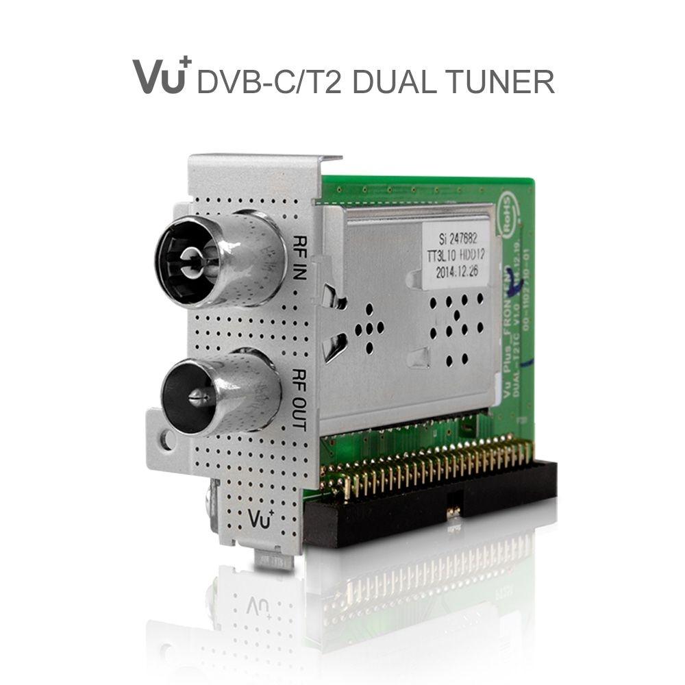 VU+ DVB-C/T2 Dual Tuner Uno / Ultimo / Duo² / Solo SE V2