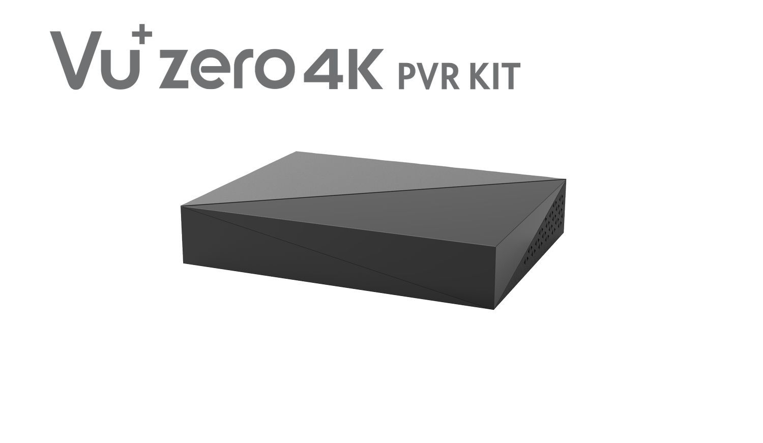 VU+Zero 4K PVR Kit incl. 4TB HDD