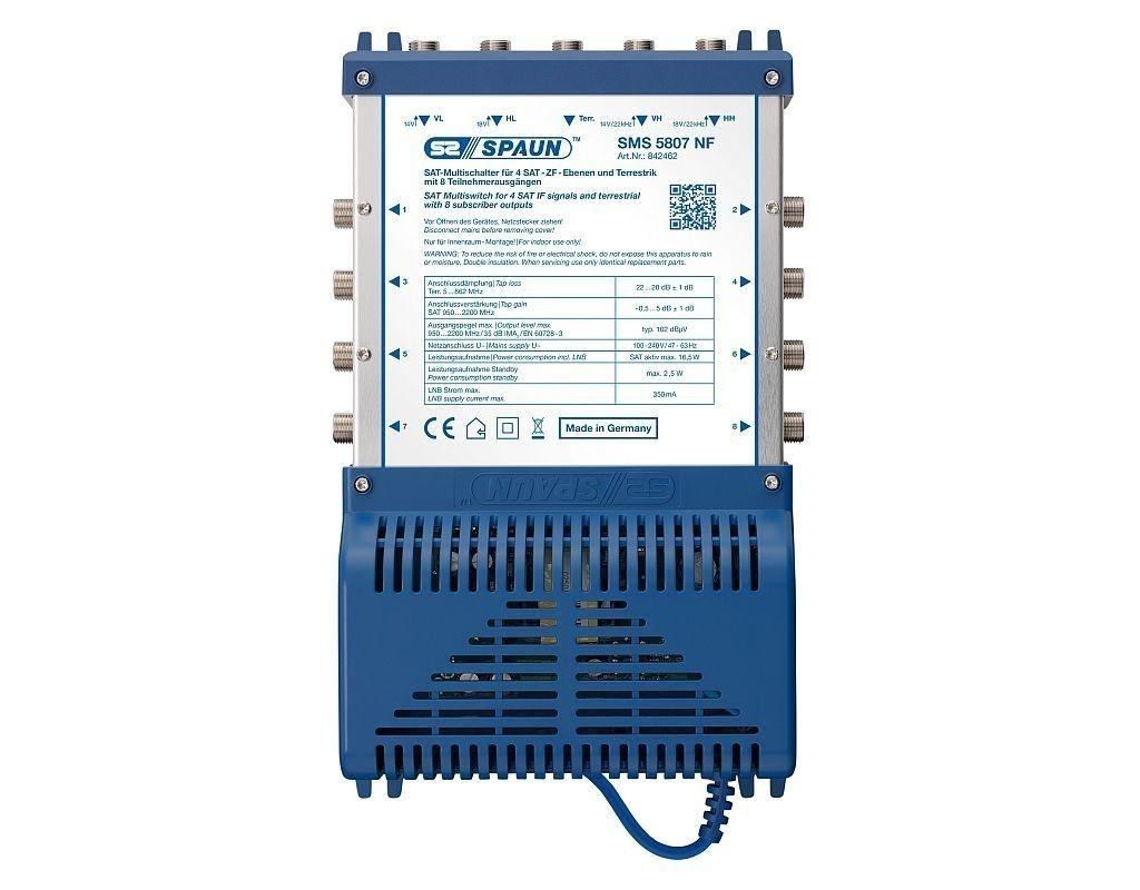 Spaun SMS 5807 NF - Multischalter 5 / 8