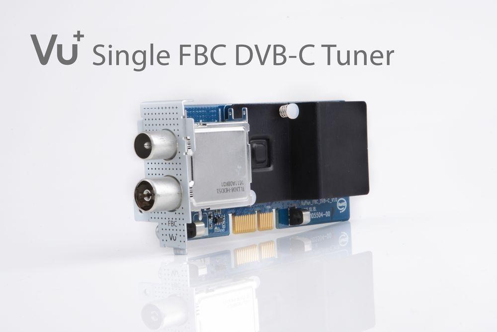 VU+ DVB-C FBC Tuner Uno 4K / Ultimo 4K ( 8 Demodulatoren )