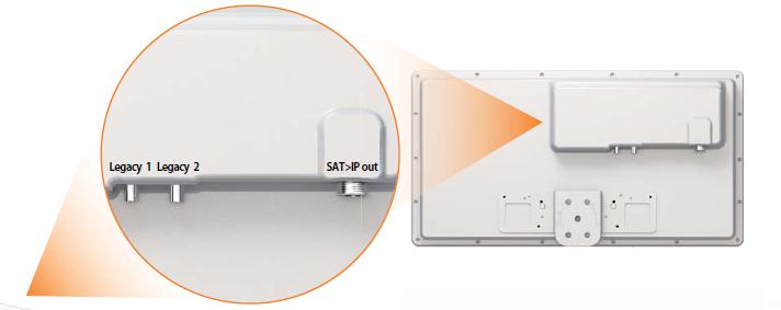 Selfsat IP21 Sat / IP Flachantenne