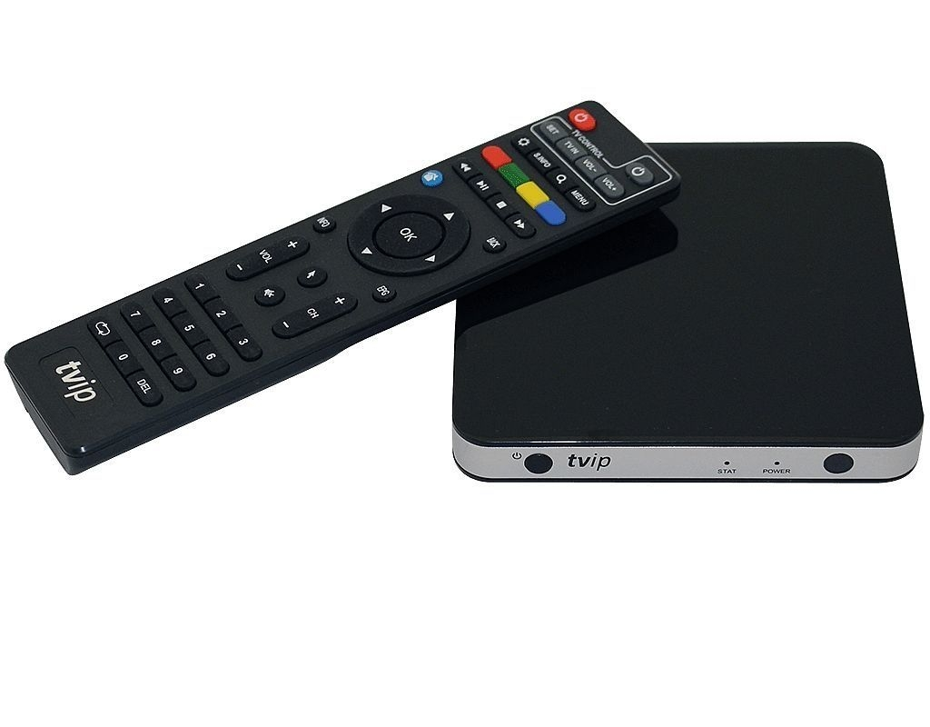 TVIP S-Box v.605 IPTV/OTT 4K UHD Media Player inkl. WLAN