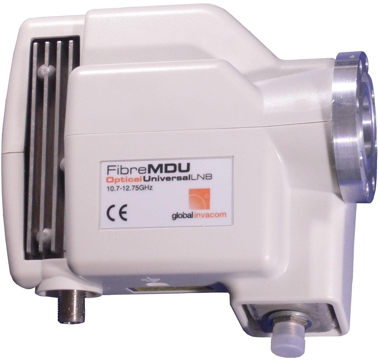 Invacom Fibre LNB *Flansch Version*  Digital LNB mit optischem Ausgang