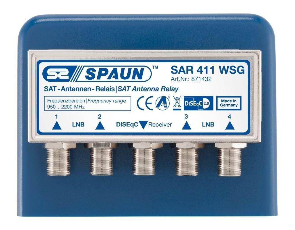 Spaun SAR 411 WSG - 4/1 DiSEqC Schalter
