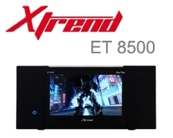 Xtrend ET 8500 HD 2x DVB-C/T2 Hybrid Tuner Linux Full HD HbbTV Receiver PVR ready