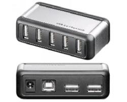7 Port USB 2.0 Hub Aktiv geeignet z.B. für Smargo