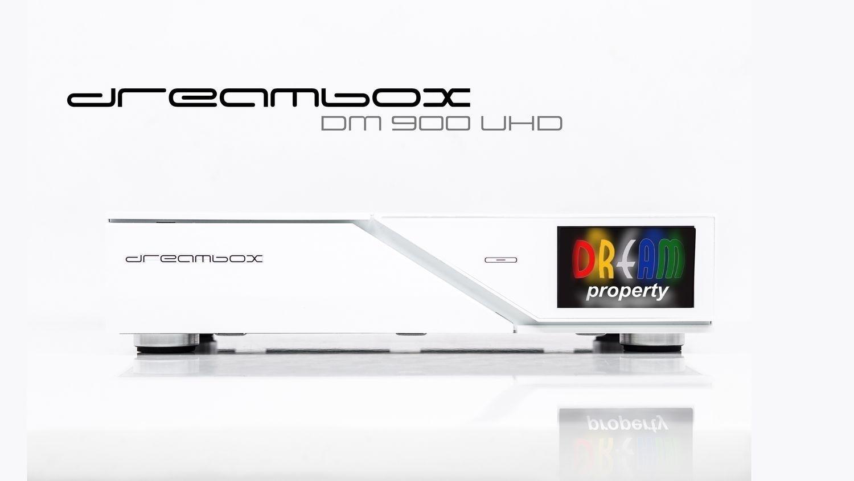 Dreambox DM900 WE UHD 4K 1x DVB-S2 Dual Tuner E2 Linux PVR Receiver