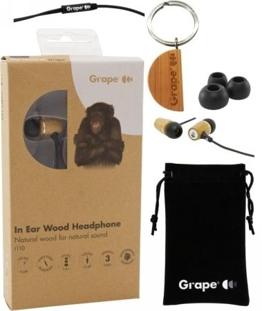 Grape I110 Bamboo In-Ear Kopfhörer