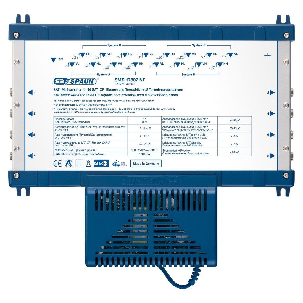 Spaun SMS 17807 NF SAT Multischalter
