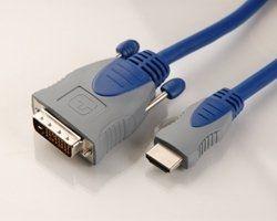 Multiline HDMI 3,0 m auf DVI-D Stecker 19 Pin,