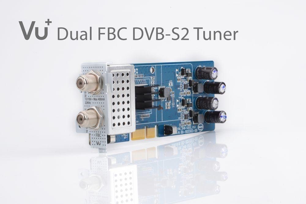 VU+ DVB-S2/S2X FBC Twin Tuner Uno 4K / Ultimo 4K ( 8 Demodulatoren )