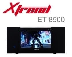 Xtrend ET 8500 HD 1x DVB-S2 / 1x DVB-C/T2 Hybrid Tuner Linux Full HD HbbTV Receiver PVR ready