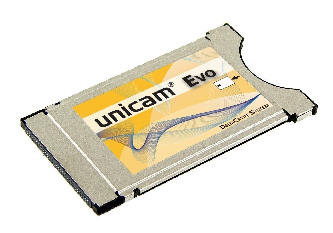 Unicam Evo Deltacrypt CI Cam Modul Rev. 4.0