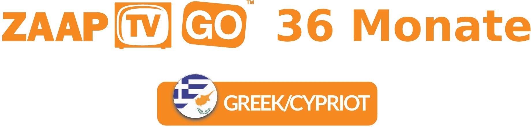 ZaapTV HD609N STB IPTV Receiver incl. 3 years ZAAPTV GO (griechisch/zypriotisch)