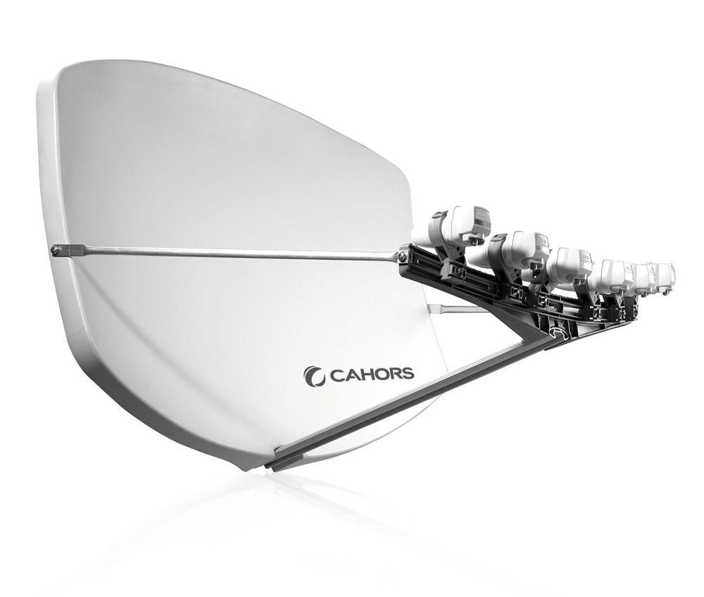 Visiosat BIG-BISATMulti-LNB Antenne weiss