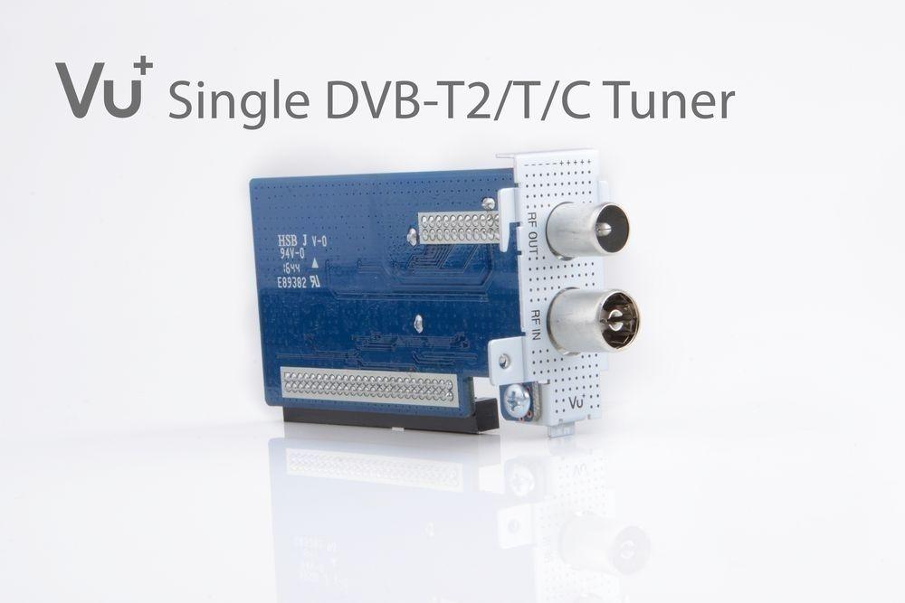 VU+ DVB-C/T2 Tuner Uno / Ultimo / Duo² / Solo SE V1 / V2 / Solo 4K / Ultimo 4K