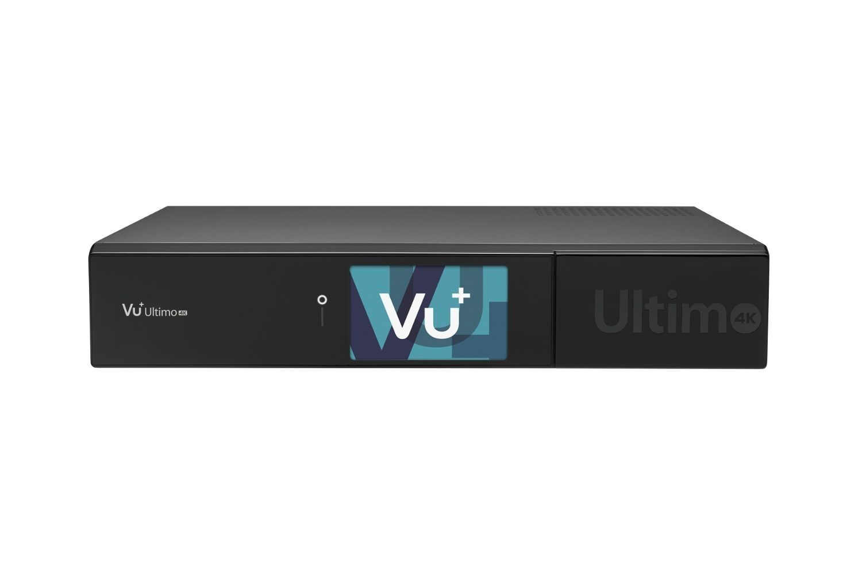 VU+ Ultimo 4K 2x DVB-C FBC Tuner 6 TB HDD Linux Receiver UHD 2160p