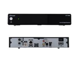 Xtrend ET 7500 HD 2x DVB-S2 Linux Full HD 1080p HbbTV Sat Receiver USB