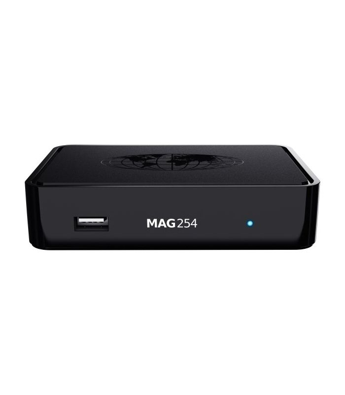 MAG 254w1 WLAN WiFi 150Mbs IPTV Streamer SET TOP BOX Multimedia Internet TV HDTV