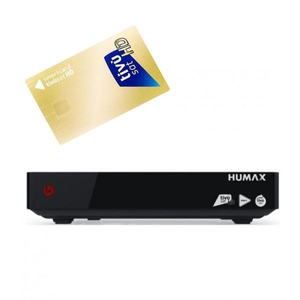 Humax HD-6800S HDTV Tivumax Pro Receiver + Tivusat Karte