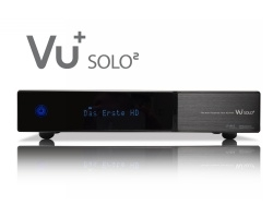 VU+ Solo² 2x DVB-S2 Tuner PVR Ready Twin Linux Receiver Full HD 1080p (black)